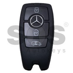 OEM Smart Key Mercedes Sprinter W907 Buttons:3 / Frequency: 433.92MHz / Manufacture: HELLA / Part No: A9079058606 / Keyless Go