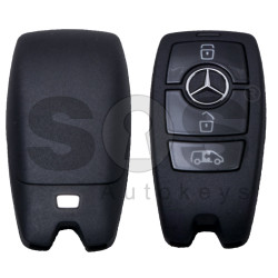 OEM  Smart Key Mercedes Sprinter W907 Buttons:3 / Frequency: 315MHz / Manufacture: HELLA / Part No: A9079058806 / Keyless Go