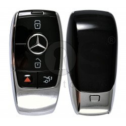 OEM  Smart Key Mercedes FBS4 Buttons:3+1P / Frequency: 315MHz /  Part No: A 167 905 45 03 / Blade signature:HU64 / Keyless Go / Nickel Black