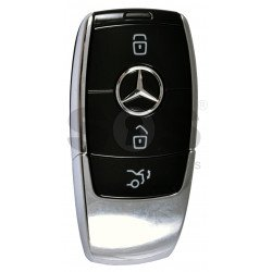 OEM  Smart Key Mercedes FBS4 Buttons:3 / Frequency: 315 MHz /  Part No: A 167 905 48 03 / Blade signature:HU64 / Keyless Go / Nickel Black