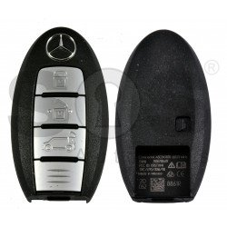 OEM Smart Key for Mercedes X-Class Buttons:3 / Frequency:434MHz / Transponder:NCF29A/HITAG / Blade signature:NSN14 / Immobiliser System:BCM / FFC ID: KR5TXN1AES / Keyless GO