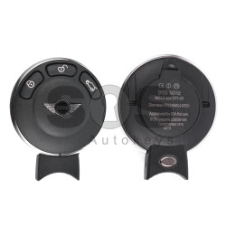 OEM Smart Key for Mini Buttons:3 / Frequency:868MHz / Transponder:PCF7943 / Blade signature:HU92 / Immobiliser System:CAS3/3+ / Part No:66123456367 / Keyless GO