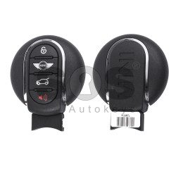 OEM Smart Key for MINI Clubman Buttons:3+1 / Frequency:434MHz / Transponder:PCF 7953 / Blade signature:HU100R / Immobiliser System:FEM / Part No: 9367411-01 / Keyless GO