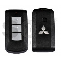 OEM Smart Key for Mitsubishi L200/ MONTEO Buttons:3 / Frequency:433MHz / Transponder:NCF295X/HITAG 3/BI-PHASE /Blade signature:MIT11 / Part No:8637B107 / Keyless GO