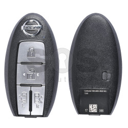 OEM Smart Key for Nissan Buttons:4 / Frequency:433MHz / Transponder: PCF7953 / Blade signature:NSN14 / Part No: S180144604 (WITHOUT SLOT)