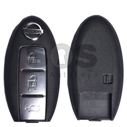 OEM Smart Key for Nissan Buttons:3 / Frequency:433MHz / Transponder:PCF 7952A / Blade signature:NSN14 / Manufacture: Mitsubishi Electric (Without Slot)