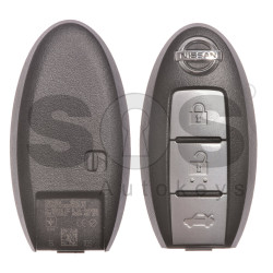 OEM Smart Key for Nissan Buttons:3 / Frequency: 434MHz / Transponder: HITAG2/ ID46/ PCF7952 / Blade signature:NSN14 / Part No: 5WK49609 (With Slot)