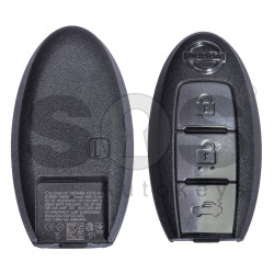 OEM Smart Key for Nissan Buttons:3 / Frequency: 434MHz / Transponder: HITAG3/ ID46/ PCF7952XTT / Blade signature:NSN14 / Part No: S180144017 (Without Slot)