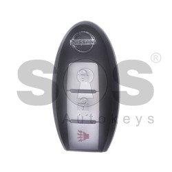 OEM Smart Key for Nissan Morano 2015 Buttons:2+1P / Frequency: 434MHz / Transponder:HITAG 128-bit/ AES/ PCF7953M / Blade signature:NSN14 / Part No: 285E3-5AA1C