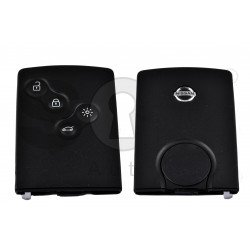 OEM Smart Card Nissan 4 Buttons:4 / Frequency: 433MHz / Transponder: Hitag AES PCF7953 / Blade signature:VA2 / Immobiliser System:BCM / Keyless GO
