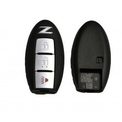 OEM Smart Key for Nissan Z Buttons:2+1 / Frequency:315MHz / Transponder:PCF7952 / Blade signature:NSN14 / Part No: 5WK50193/285E3-1ET5A
