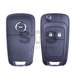 OEM Flip Key for Opel Corsa D/Corsa E/Meriva 2012+ Buttons:2 / Frequency:434 MHz / Transponder:PCF 7937 / Blade signature:HU100 / Immobiliser System:BCM / AFTERMARKET SHELL