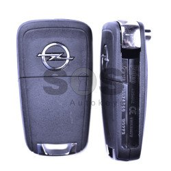 OEM Flip Key for Opel Astra J/Insignia Buttons:2 / Frequency:433 MHz / Transponder:PCF 7937 / Blade signature:HU100 / Immobiliser System:BCM / Part No: GM13574868/ GM1350235
