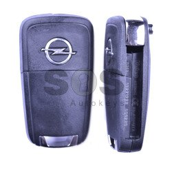 OEM Flip Key for Opel Corsa D/Corsa E/Meriva 2012+ Buttons:2 / Frequency:434 MHz / Transponder:PCF 7941 / Blade signature:HU100 / Immobiliser System:BCM / Part No:Described in the product description below