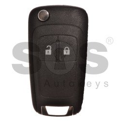 Flip Key for Vauxhall  Corsa D /E Buttons:2 / Frequency: 433MHz / Transponder: PCF7941/ HITAG2/ ID46 / Blade signature: HU100 / Immobiliser System:BCM / Part No: Described in the product description below