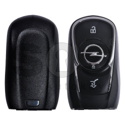 OEM Smart Key for Opel Astra K/Insignia Buttons:3 / Frequency:434MHz / Transponder: HITAG2/ ID46/ PCF7937E / Blade signature:HU100 / Immobiliser System:BCM / Keyless Go