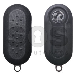 OEM Flip Key for Vauxhall (As Fiat) Buttons: 3 / Frequency: 434MHz / Transponder: PCF7946/ HITAG2/ ID46/ PCF7946 / Blade signature: SIP22