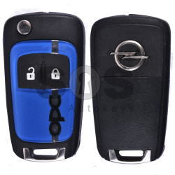 OEM Flip Key for Opel OPC Buttons:2 / Frequency:433MHz / Transponder:HITAG 2 / Blade signature:HU100 / Immobiliser System:BCM