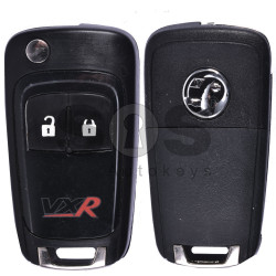 OEM Flip Key for Vauxhall VXR Buttons:2 / Frequency:433MHz / Transponder:HITAG2/ ID46/ PCF7946 / Blade signature:HU100 / Immobiliser System:BCM (White)