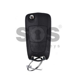 OEM Flip Key for Opel Antara Buttons:2 / Frequency:433MHz / Transponder:Tiris DST 4D/ ID46/ PCF7936 / Blade signature:DWO5 /  Part No: E4-116RA-000043/ 96628228