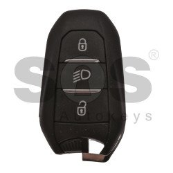 OEM Smart Key for Peugeot Buttons:3 / Frequency:433MHz / Transponder:HITAG3/ 128 AES/ ID47 / Blade signature:VA2/HU83 / Immobiliser System:BCM / Part No: 98097814ZD / 98 426 814 80 /Keyless Go