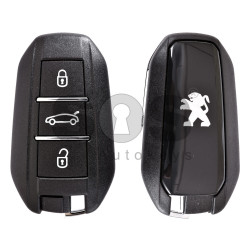 OEM Smart Key For Peugeot 308/508 Buttons:3 / Frequency:434MHz / Transponder: PCF7945/ 7953 / Blade signature:VA2 / Immobiliser System:BCM / Part No: 96728357XT / Keyless GO