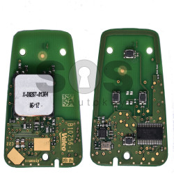 OEM Smart Key (PCB) for Citroen/Peugeot 2015+ Buttons:4 / Frequency:434MHz / Transponder:HITAG 128-bit AES / Part No:B10256-1 / ID:97866862 / Keyless Go
