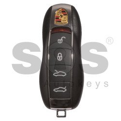 Smart Key for Porsche Buttons:4 / Frequency:434MHz / Transponder: PCF7945 / Blade signature:HU66 / Immobiliser System:BCM / Part No:991 637 259 03