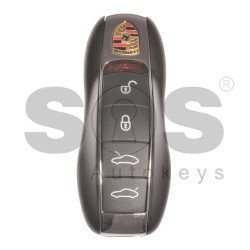 OEM Smart Key for Porsche Buttons:4 / Frequency:434MHz / Transponder: HITAG PRO/ CMD53 / Blade signature:HU66 / Immobiliser System:BCM / Part No:991 637 261 10 / Keyless GO
