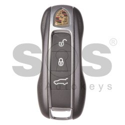 OEM Smart Key for Porsche Cayene Buttons:3+1 / Frequency: 433MHz / Blade signature: HU162T / Part No: 9Y0959753AB / Keyless GO