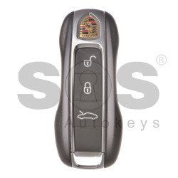 OEM  Smart Key for Porsche 911 Buttons:3 / Frequency: 315MHz / Blade signature: HU162T / Keyless GO