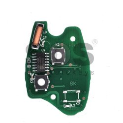 Regular Key for Ren Buttons:2 / Frequency:433MHz / Transponder: ID46/ PCF7946 / Blade signature:VA2 / Immobiliser System: Johnson control