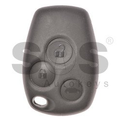 OEM Regular Key Ren Buttons:3 / Frequency: 434MHz / Transponder: HITAG2/ ID46/ PCF7947 / Blade signature: VA2/ HU136FH / Immobiliser System:BCM / Part. No.: 7701209236