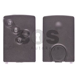 OEM Card Key Ren Clio 4 Buttons:4 / Frequency: 433MHz / Transponder: HITAG / AES/ B-PHASE/ Manchester / Blade signature:VA2 / Immobiliser System: BCM / Part No: 285974100R