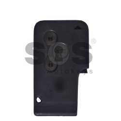 OEM Card Ren Megane 2/ Scénic 2/ Clio 2 Buttons:3 / Frequency: 433MHz / Transponder: PCF7943 / Blade signature:VA2 / Immobiliser System: BCM / Keyless Go