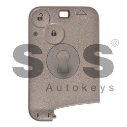 OEM Card Ren Laguna/ Espace Buttons:2 / Frequency: 433MHz / Transponder: ID46/ PCF7947 / Blade signature: VA2 / Immobiliser System: BCM / Part No: 7701209129/ 285974219R