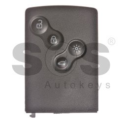 OEM  Smart Key Ren Samsung Buttons:4 / Frequency:433MHz / Transponder: HITAG2/ ID46/ PCF7941 / Blade signature:VA2 / Immobiliser System:BCM