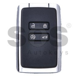 OEM Smart Card Ren Espace / Megane 4  Buttons:4 / Frequency: 433MHz / Transponder:HITAG AES/ PCF7953M / Blade signature: VA2  / Keyless GO ( Automatic Start )