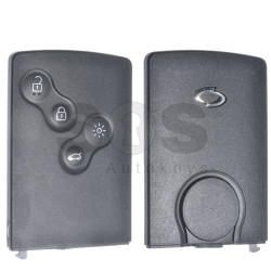 OEM Smart Key Ren Samsung Buttons:4 / Frequency:433MHz / Transponder: PCF7952A / Blade signature:VA2 / Immobiliser System:BCM / Part No: 285971998R / Keyless GO