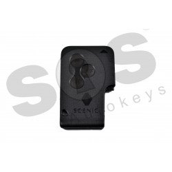 OEM Card for Ren Scenic Megane 2 Buttons:3 / Frequency:433MHz / Transponder:HITAG2/ PCF7947/ ID46 / Blade signature:VA2 / Immobiliser system:BCM / Part No: 7701209135