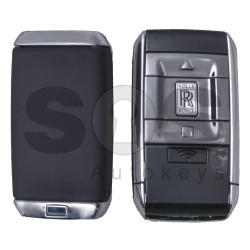 OEM Smart Key for Rolls Royce 2018+ Buttons: 3+1 / Frequency: 434MHz / Transponder: HITAG/ 128-bit AES / Blade signature: HU100R