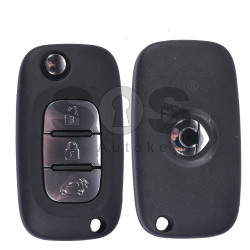 OEM Flip Key for Smart W453 2014+ Buttons:3 / Frequency:315 MHz / Transponder:PCF 7961M AES / Blade signature:VA2 / Immobiliser System:BCM