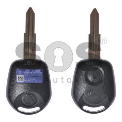 OEM Regular Key for SsangYong Buttons:2 / Frequency:477MHz / Transponder:TMS37145/ ID 49 - 60 80-Bit / Blade signature:SSA2P / Part No: 87170-32020