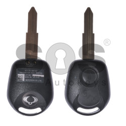 OEM Regular Key for SsangYong Buttons:2 / Frequency:447MHz / Transponder:ID 4D-60 40-Bit / Blade signature:SSA2P / Part No: 87170-09152