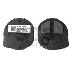 OEM  Regular Key for Suzuki Buttons:2 / Frequency:433.9MHz / Transponder:HITAG3 / Blade signature:SUZU-14/HU133R / Immobiliser System:Immo Box / Part No: 37182-79M00 (Remote Only)