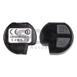 OEM Regular Key for Suzuki Buttons:2 / Frequency:433MHz / Transponder:PCF 7936/HITAG 2/ID46 / Blade signature:SUZU-14/HU133R / Immobiliser System:IMMO Box / Part No: 946727 / 929900 /3714555J60 / Manufacture:OMRON  (Remote Only)