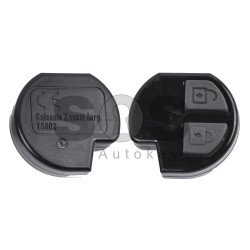 OEM Regular Key for Suzuki Buttons:2 / Frequency:433MHz / Transponder:PCF 7936/HITAG 2/ID46 / Blade signature:SUZU-14/HU133R  / Manufacturer:Calsonic Kansei Corporation / (Remote Only)