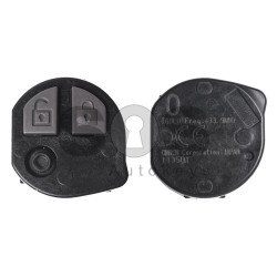 OEM Regular Key for Suzuki Buttons:2 / Frequency:433.9MHz / Transponder: PCF7961 / Blade signature:SUZU-14/HU133R / Immobiliser System:IMMO Box / Model No:T68LO (Remote Only)