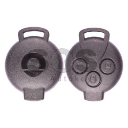 Regular Key for Smart ForTwo Buttons: 3 / Frequency: 433MHz / Transponder: PCF 7941 / Immobiliser System: BCM / Part. No: A4518203797