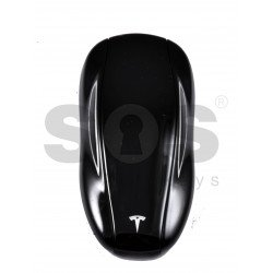 OEM Smart Key for Tesla  Buttons:2 / Frequency:433MHz / Transponder:Tiris TMS 37126 40-Bit / Keyless GO / Without back cover